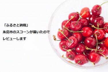 【ふるさと納税】糸島市のスコーンが届いたのでレビューします
